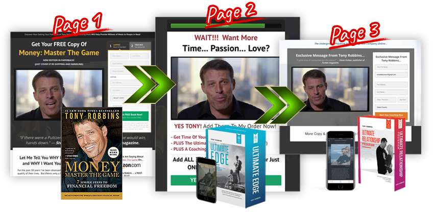 Clickfunnels Tony Robbins Buchfunnel