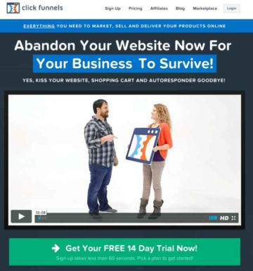 Clickfunnels - Sales Funnel Software