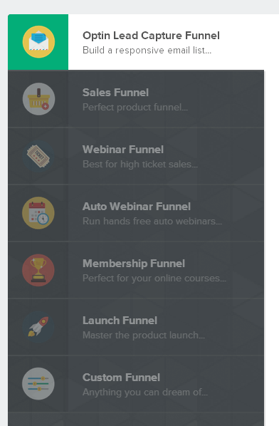 clickfunnels flat images dashboard