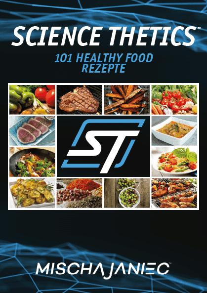 Mischa Janiec - ScienceThetics - Fitnessprogramm - Ernährungsguide