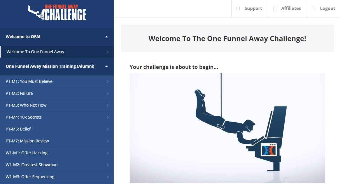 OFA - One Funnel Away Challenge
