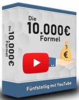 Geld verdienen Youtube - Online Kurs - Die 10 000 Euro Formel – YouTube