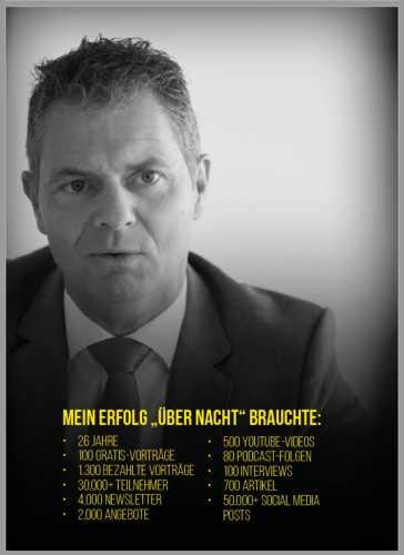 Dirk Kreuter Entscheidung Erfolg - Erfolg über Nacht
