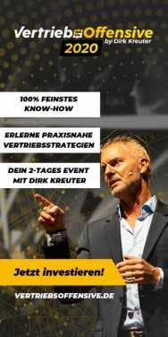 Dirk Kreuter - Vertriebsoffensive