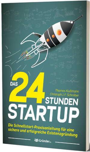 Buch – Thomas Klußmann – 24 Stunden Startup