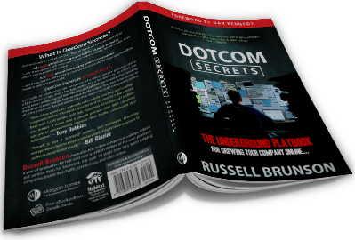 Buch dotcom secrets Russell Brunson Clickfunnels