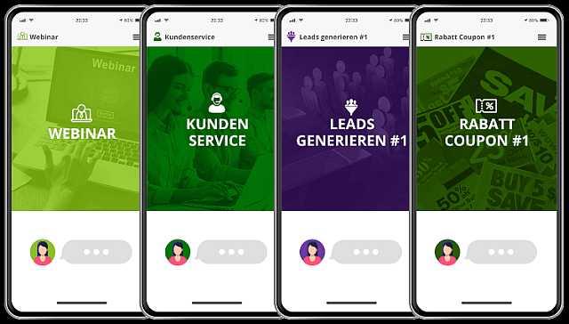 Converttools Convertchat Chatbot Vorlagen