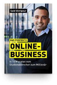 Said Shiripour kostenloses Buch das perfekte Online Business