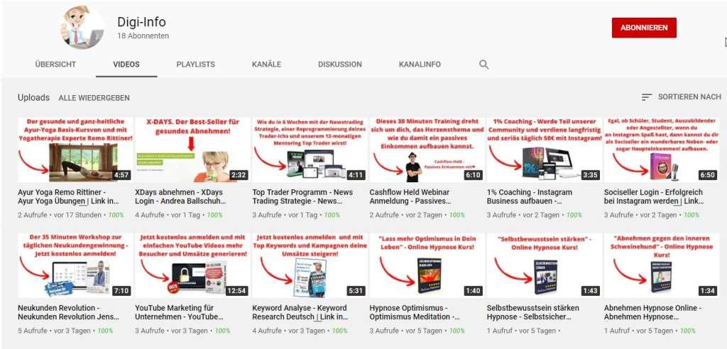 Digi-Info - YouTube Kanal