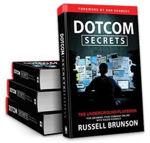 DotCom Secrets Buch Russel Brunson Clickfunnels