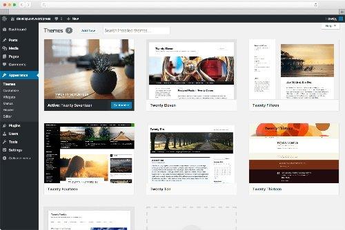 Wordpress beispielseite